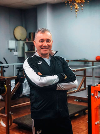 Тренер на тренажёре ПравИло - Александр
